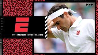 Reacting to Roger Federer's shocking loss in straight sets vs. Hubert Hurkacz