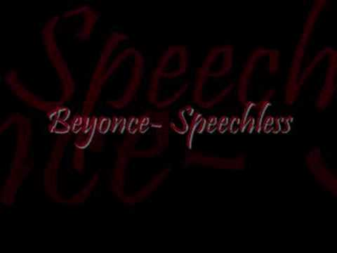 BeyonceSpeechlessWith lyrics