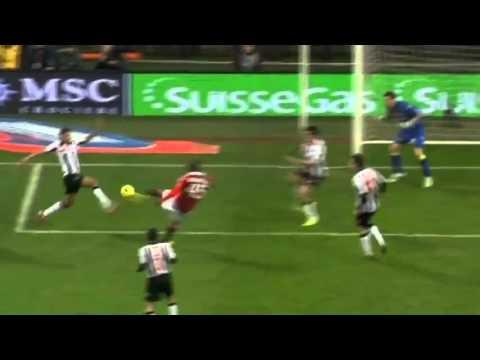 Mario Balotelli Debut Goal ( Ac Milan Vs Udinese ) 1 0 HD