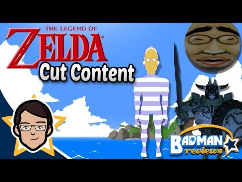 More Zelda Cut Content - Badman