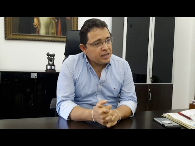 """Mi obsesión es cumplir lo que prometí"" Rafael Martinez"