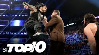 Roman Reigns' most devastating Superman Punches: WWE Top 10, Aug. 26, 2020