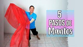 5 Pasos de Mantos que Tienes que Saber - Danza Cristiana | Sarah Yuritza