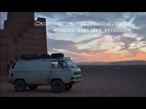 Morocco Overland part 4 - Into The Wilderness (VW T25/T3/Vanagon/Syncro)