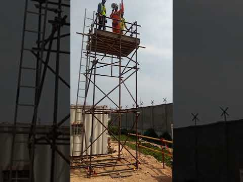 training on material falling at height Part-2 , Offshore infrastructures limited Kochi PDPP Project