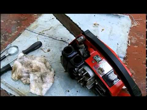 Half Ass Homelite XL2  Chainsaw Cleaning