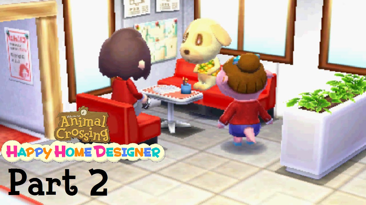 Animal Crossing Happy Home Designer Part 2 Goldie 39 S Forest Of Books Youtube