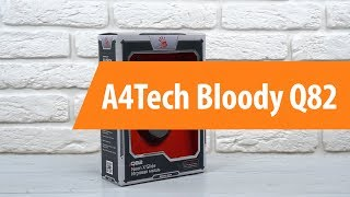 Распаковка A4Tech Bloody Q82 / Unboxing A4Tech Bloody Q82