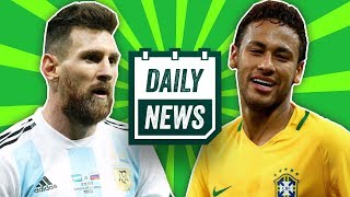 TRANSFER NEWS: Pochettino to Chelsea, Sandro to United + Brazil and Argentina 2018 World Cup squads!