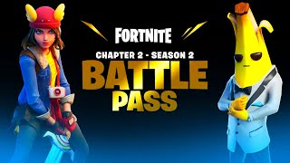 *NEW* FORTNITE SEASON 2 OUT NOW! MAX BATTLE PASS, LIVE EVENT & MORE! (Fortnite Chapter 2)