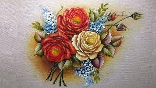 Como Pintar Ramos de Rosas 02 – Part 1