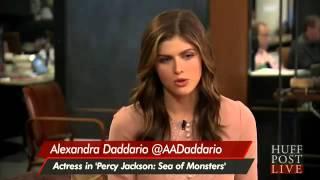 Alexandra Daddario Talks Percy Jackson Sea Of Monsters'