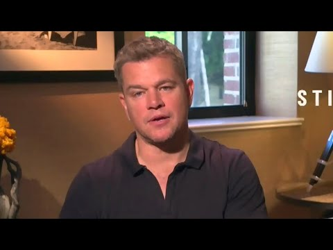 "One-on-one with Matt Damon and Abigail Breslin, stars of ""Stillwater"""