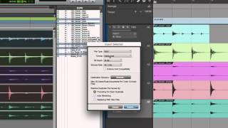 Exporting Stems: Studio One for Pro Tools Users