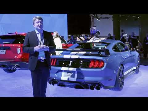 Ford Mustang Shelby GT at  NAIAS Detroit Auto Show