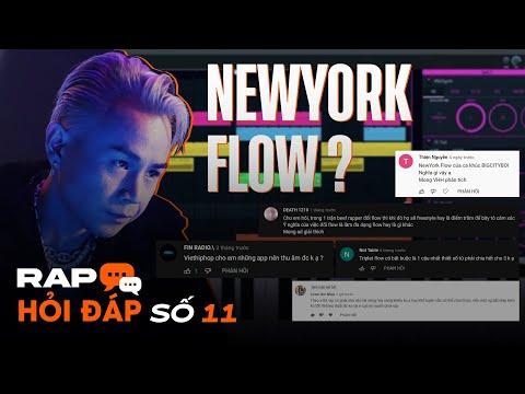 NewYork Flow trong BIGCITYBOI, App thu âm trên điện thoại, Triplet Flow Chia 3 | Rap Hỏi Đáp số 11