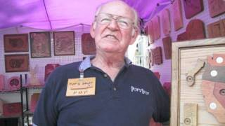 Duluth Fall Festival 2011: Fred Wilson Pops Shops Wood Worker