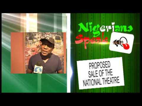 PROPOSED SALE OF THE LAGOS NATIONAL ARTS THEATRE