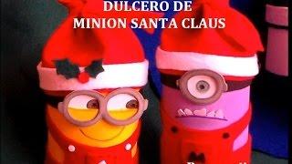 CHRISTMAS MINION SANTA CLAUS - CRAFT DIY