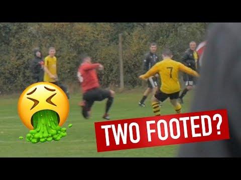 NASTY TACKLE - Brotherhood's Sunday League Football