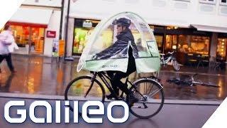 Ist ein Fahrrad-Dach sinnvoll? | Galileo Lunch Break