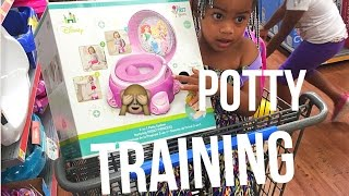 Vlogust 2016 / How I Start potty training /laavasmom