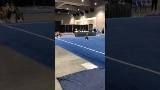 Keira's level 6 gymnastics floor routine SCEGA CALI CLASSICS 2017