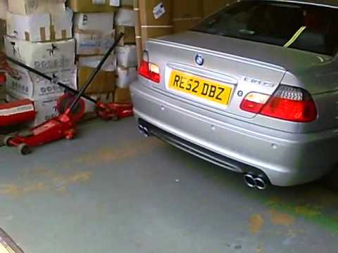 Bmw 330ci Gets Custom Dual Exit Exhaust From Styledynamics
