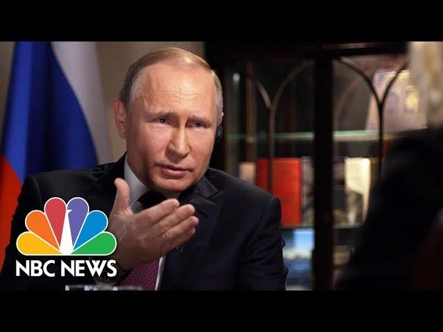 Confronting Russian President Vladimir Putin Part 1 Megyn Kelly Nbc News