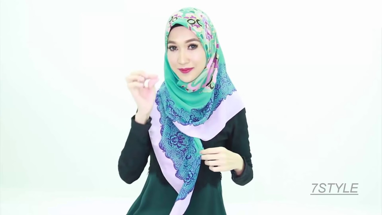 7 Styles Hijab Tutorial 2017 By ZOYA Tutorial Hijab Modern Model