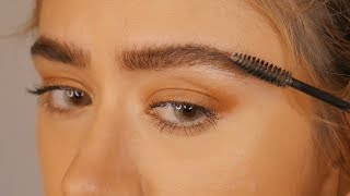 MODEL EYEBROWS | Boy Brow Look Tutorial