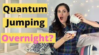 MANIFEST OVERNIGHT THE TWO CUP METHOD + Quantum Jumping | DOES IT WORK? | Sparkle Mariee