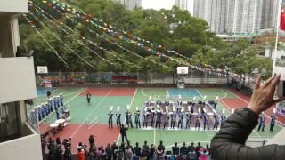 2017 02 26 可藝中學銀樂隊 校內匯操表演