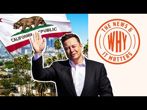 Elon Musk Says Bye to 'FASCIST' California and Hello to Texas   The News & Why It Matt