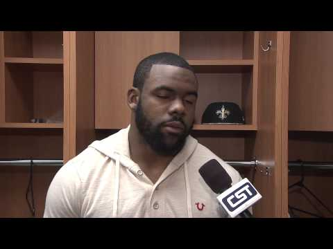 Interview with Mark Ingram following the Saints loss to the 49ers