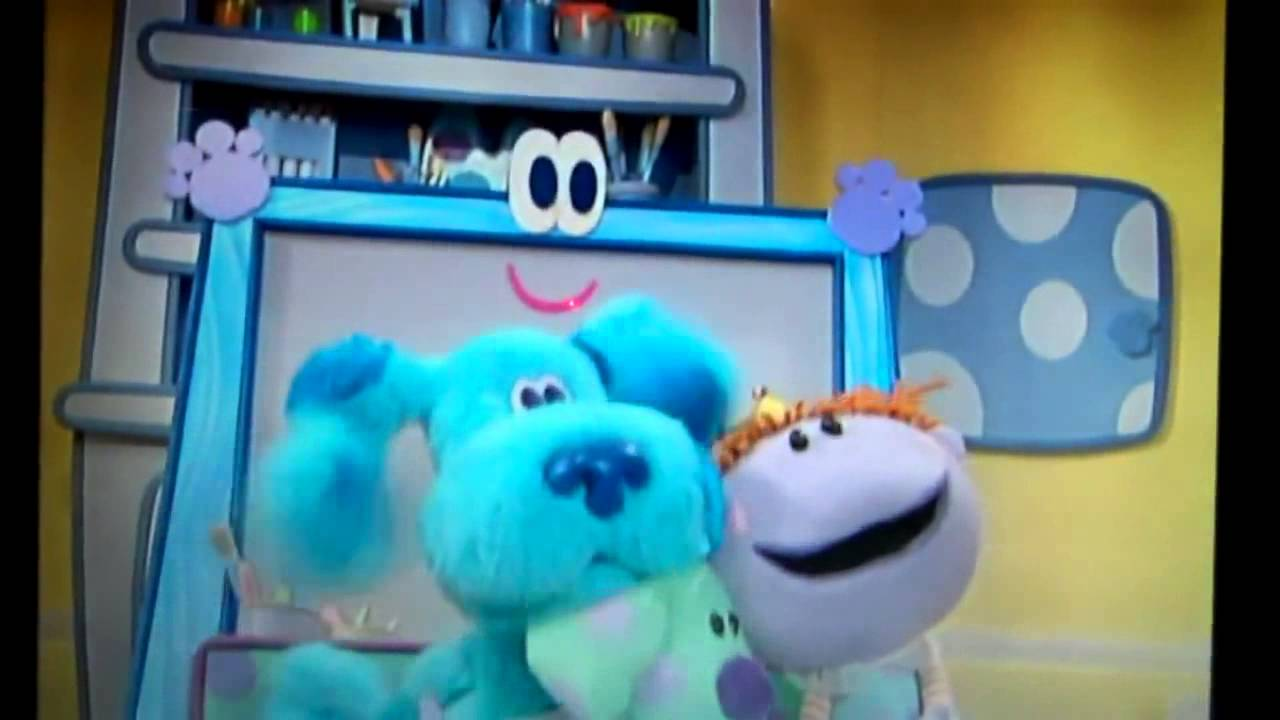 Blue S Clues Talks Vhs And Dvd Trailer