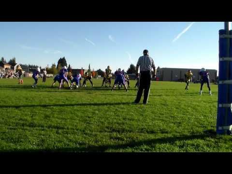 Crossler Middle School vs Whiteaker Middle School Football Game