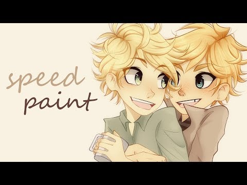 Tweek x Kenny Speedpaint | art trade