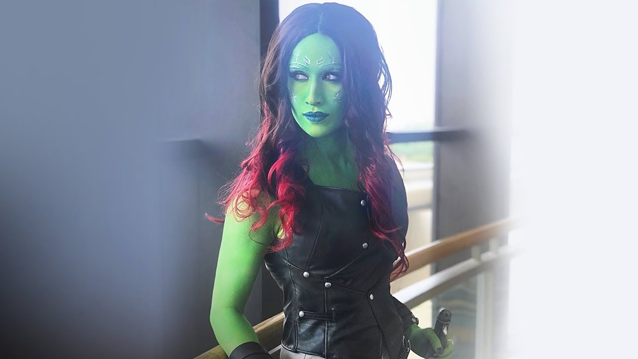 Gamora Cosplay Tutorial Guardians Of The Galaxy Youtube