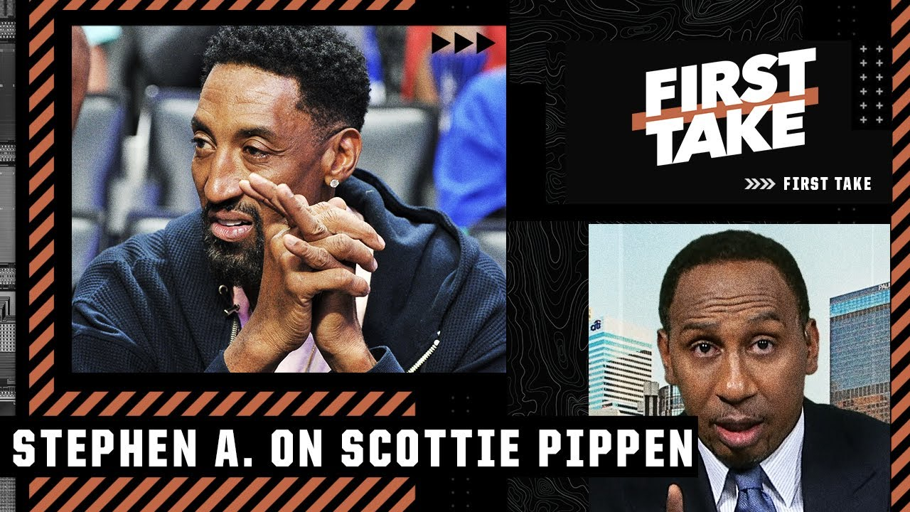 Download This is one of the most idiotic things Scottie Pippen has ever said - Stephen A. Smith | First Take