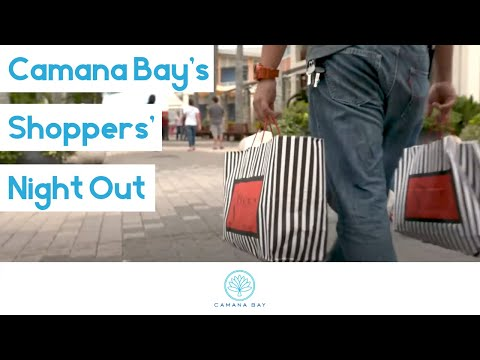 Camana Bay's Shoppers' Night Out