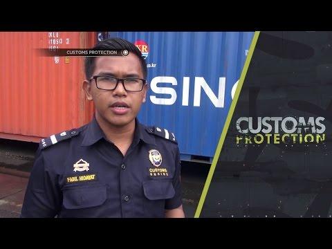 Penggagalan Penyelundupan Satu Kontainer Minuman Beralkohol - Customs Protection