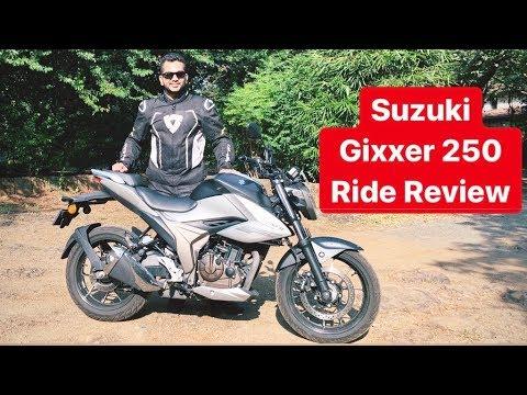 2019 Suzuki Gixxer 250 Streetfighter - Ride Review (Hindi + English)