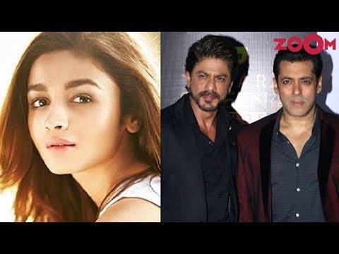 Alia Bhatt The Top Choice For Sanjay Leela Bhansali's Salman Khan & Shah Rukh Khan Starrer Film?