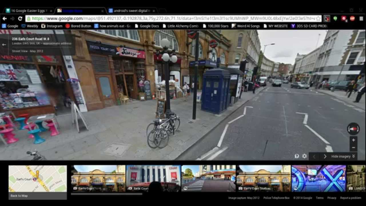 Doctor Who Tardis on Google Earth and Maps! - YouTube on