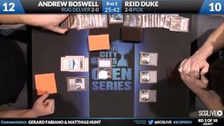 SCGProv - Leg - Rd 3 - Andrew Boswell vs Reid Duke