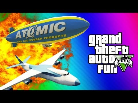Thumbnail: GTA 5 Online Glitches & Mods - Tank Teleport Glitch, Cargo Plane, Blimp Fun (GTA 5 Funny Moments)