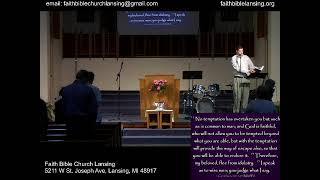 """""""How To Overcome Temptation"""" - Sunday Morning Service - 16 May 2021"""