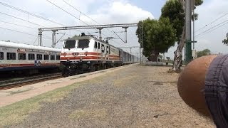 India's Fastest Captured Semi High Speed Train Trial On Indian Railways!!!!!!