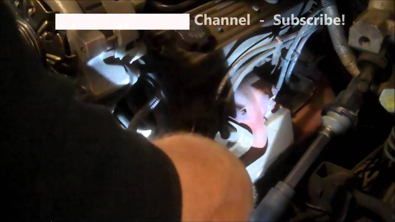 power steering pump replacement gmc chevrolet pickups 1990 install remove replace [ 1280 x 720 Pixel ]